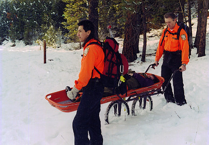 Neet Kart as an Emergency back country rescue Cart